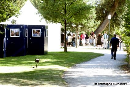 le Festival Cognac Blues Passions dans le jardin public